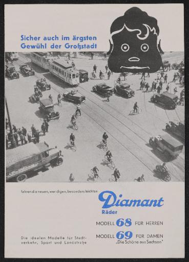 Diamant Räder Prospekt 1936