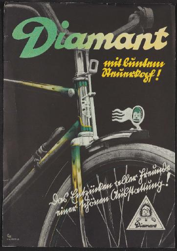 Diamant, Werbeblatt 1936