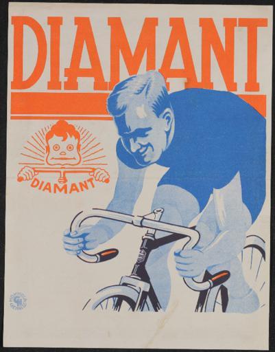 Diamant-Elite AG Qualitäts-Halbrenner Werbeblatt 1930er Jahre