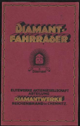 Diamant-Fahrräder Katalog 1920 1921