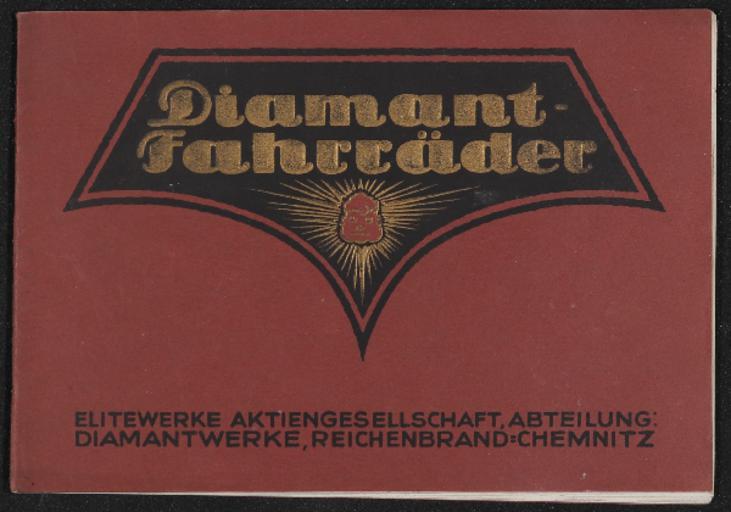 Diamant-Fahrräder Katalog 1922