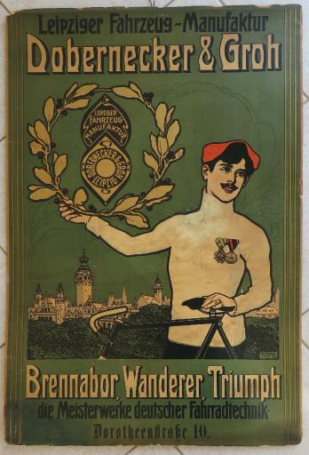 Dobernecker und Groh Plakat 1910er Jahre