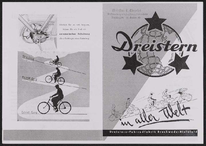 Dreistern Prospekt 1950er Jahre