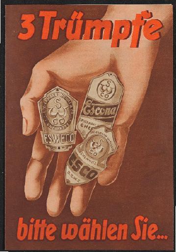 ESWECO Markenfahrräder Faltblatt 1937