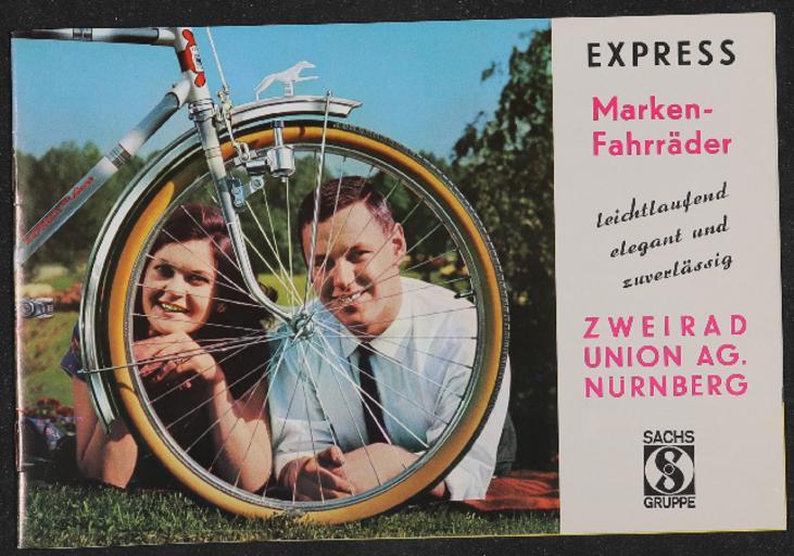 Express Markenfahrräder Katalog 1960er Jahre