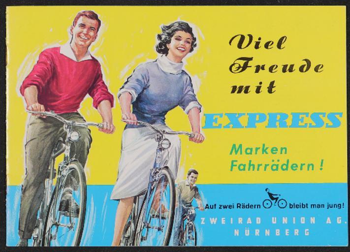 Express Markenfahrräder Katalog 1962