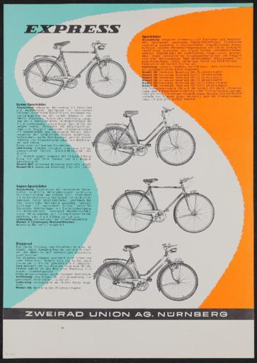Express Werbeblatt 1960er Jahre