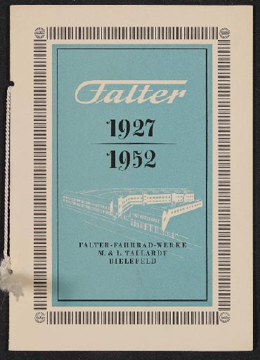 Falter Firmenchronik 1952