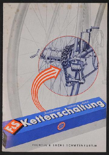 Fichtel u. Sachs Kettenschaltung Infobroschüre 1950