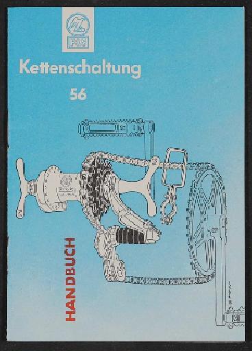 Fichtel u. Sachs Kettenschaltungen 56 handbuch 1956