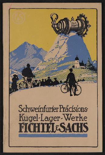 Fichtel u. Sachs Naben Katalog 1915
