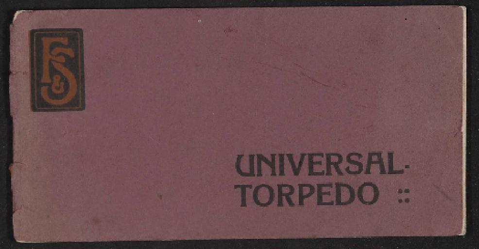Fichtel u. Sachs Universal Torpedo 4 Gang Nabe Nabe Informationsbroschüre 1910er Jahre