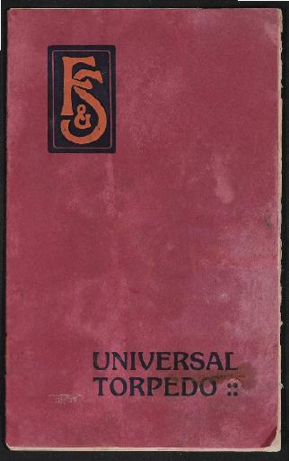 Fichtel u. Sachs Universal-Torpedo-4 Gang Nabe Infobroschüre 1912