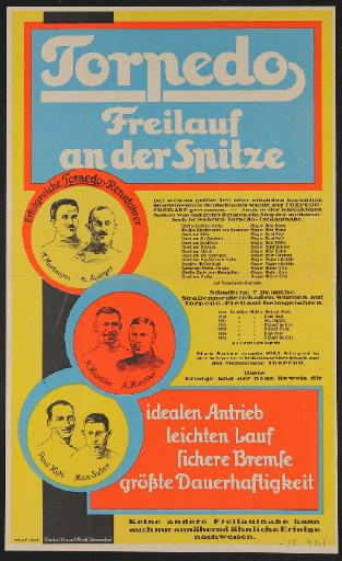 Fichtel u. Sachs Werbeblatt 1925