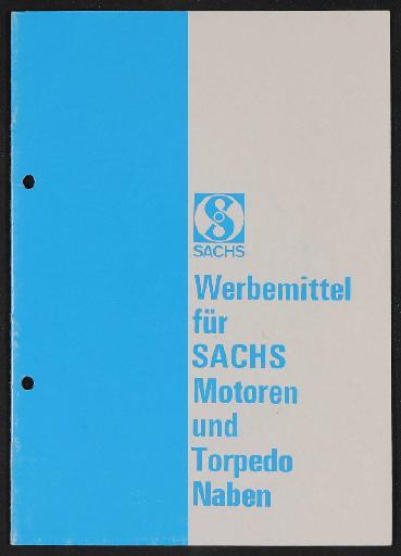 Fichtel u. Sachs Werbemittel für Händler Katalog 1960er Jahre