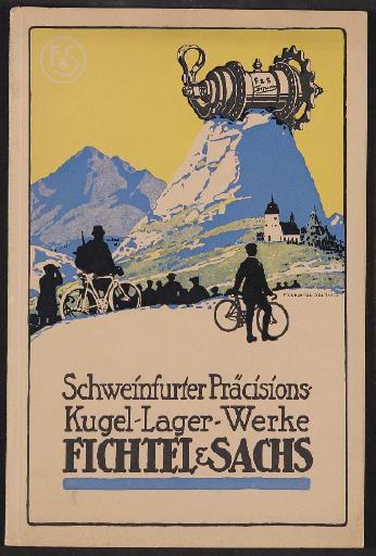 Fichtel u. Sachs, Katalog 1916
