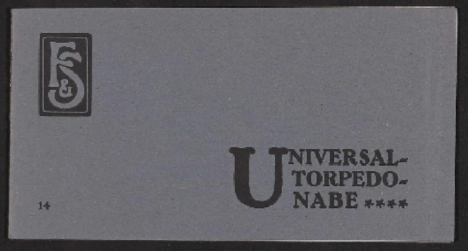 Fichtel u. Sachs, Universal-Torpedo-Nabe, 4 Gang Nabe, Bedienungsanleitung 1910er Jahre