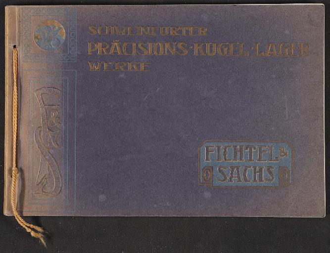 Fichtel und Sachs, Katalog 1908