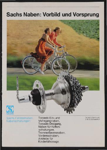 Sachs Naben Katalog 1985