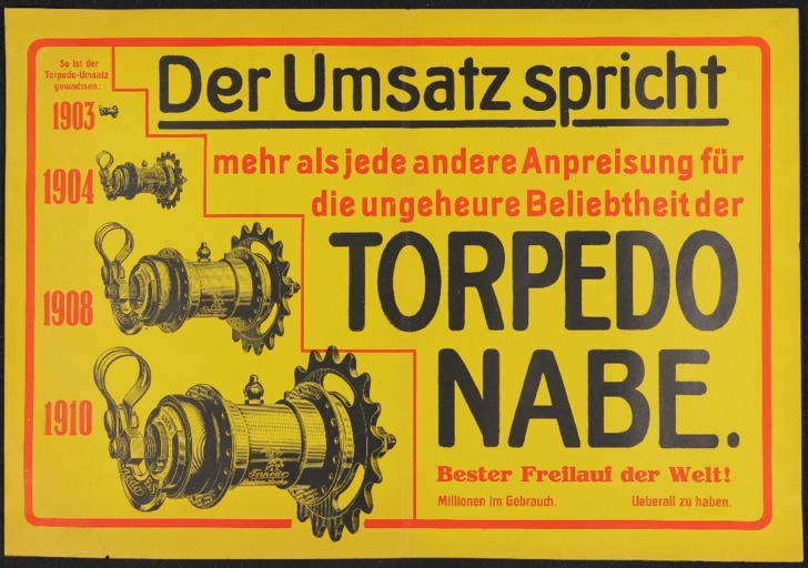 Torpedo Nabe  Plakat 1920er Jahre