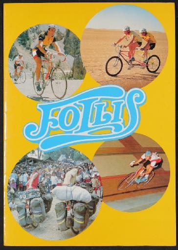 Follis Cycles Katalogmappe 1980er Jahre