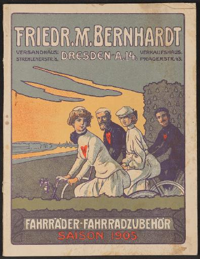 F.M. Bernhardt, Katalog 1905