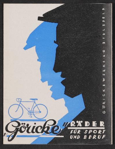 Göricke Faltblatt 1929