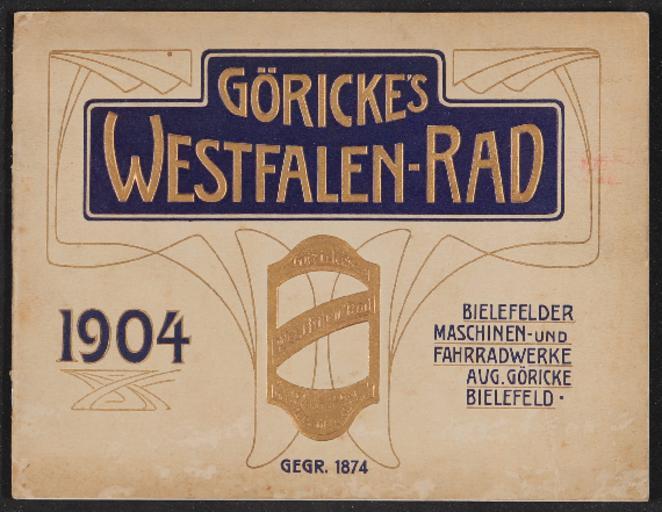 Göricke Katalog 1904