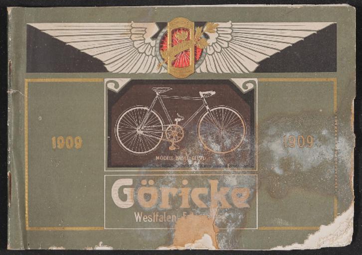 Göricke Katalog 1909
