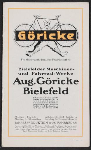 Göricke Katalog 1914