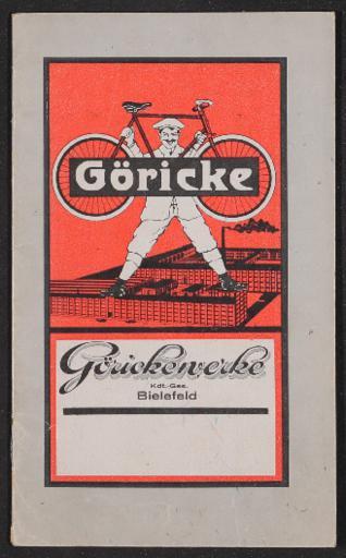 Göricke Katalog 1920er Jahre