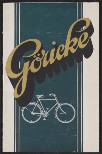 Göricke Katalog 1924