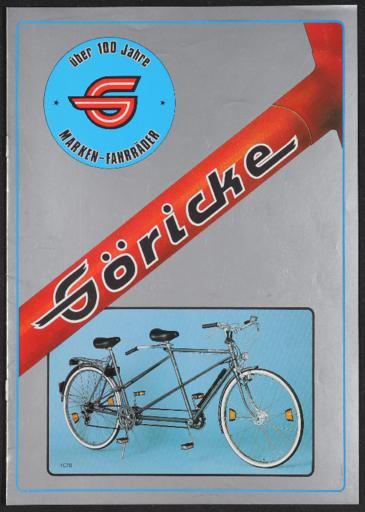 Göricke Katalog 1986