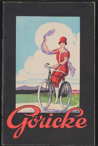 Göricke Katalog mehrsprachig 1920er Jahre