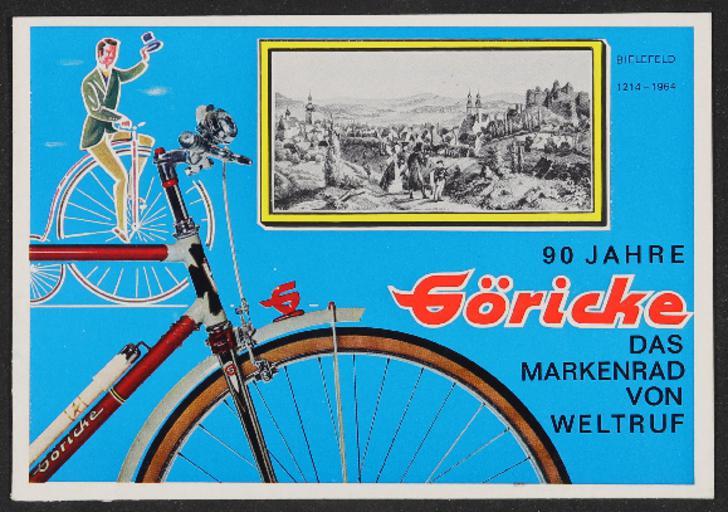 Göricke Markenrad Katalog 1964