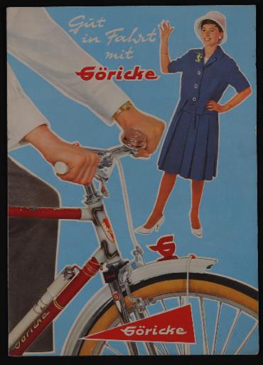 Göricke Markensporträder Faltblatt 1960er Jahre