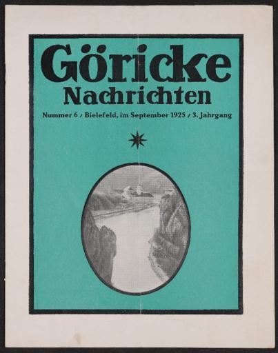 Göricke Nachrichten Nr.6 1925