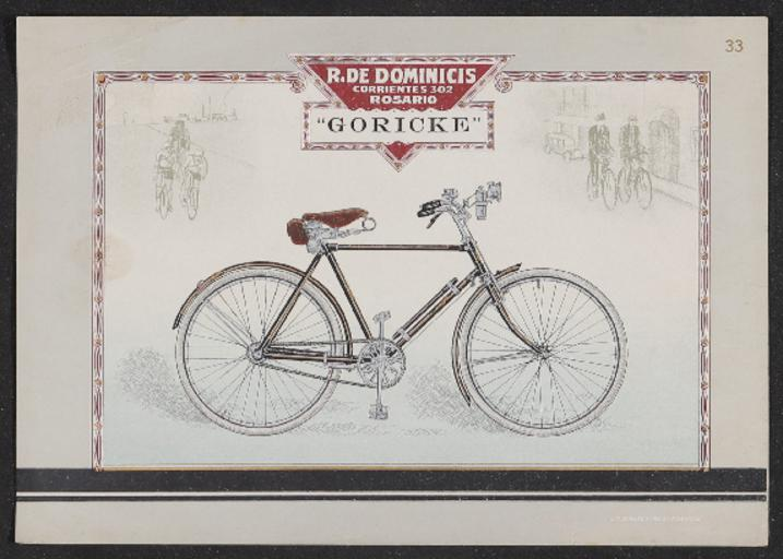 Göricke Werbeblatt spanischer Händler 1910er Jahre