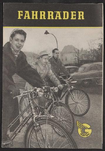 Göricke, Faltblatt 1950er Jahre