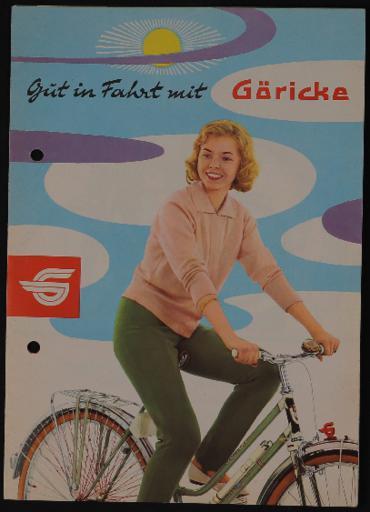 Görickewerke Faltblatt 1960er Jahre