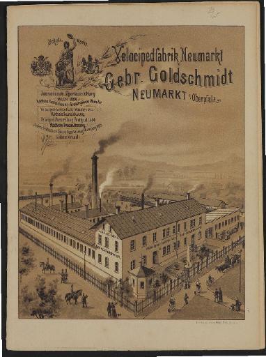 Gebr. Goldschmidt Velocipedfabrik Katalog 1891