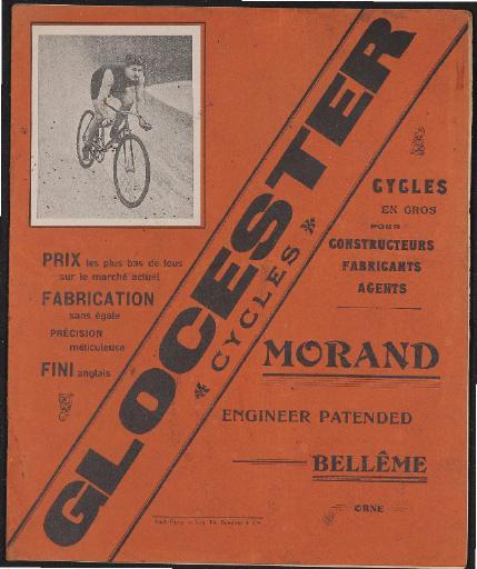 Glocester Cycles Katalog 1910er Jahre