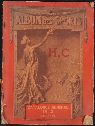 Album des Sports H.Chaput Katalog 1912