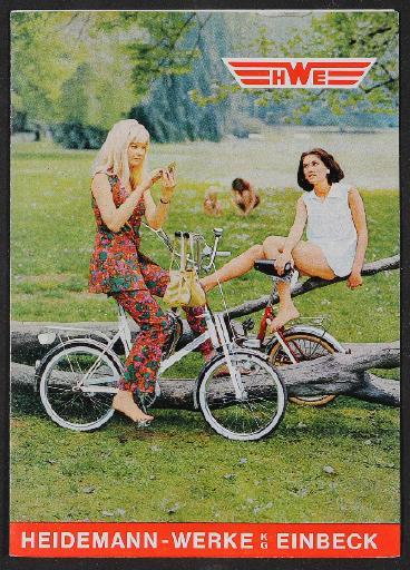 HWE Heidemann Werke Faltblatt  1970er Jahre