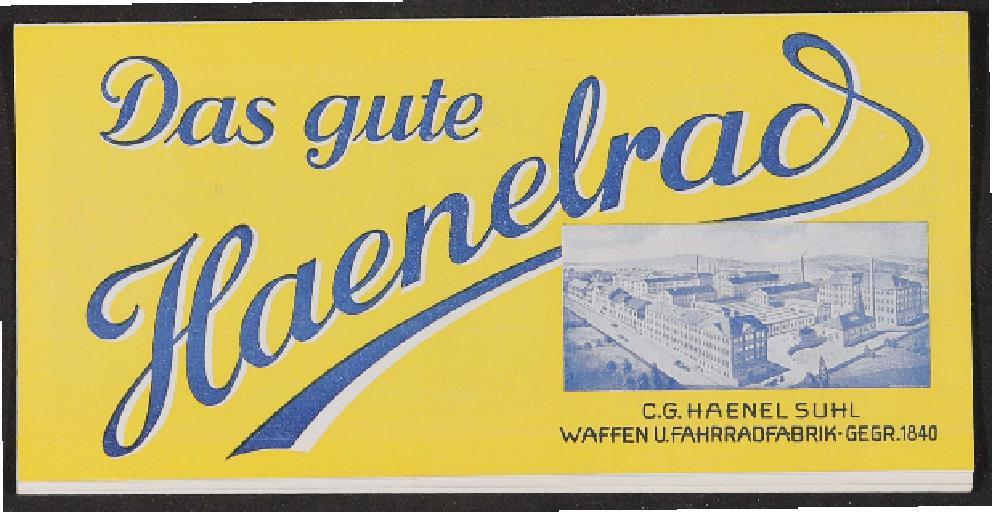 Haenel Katalog mit Preisliste 1935