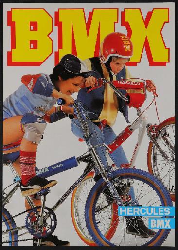 Hercules BMX Werbeblatt 1982