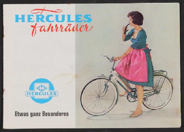 Hercules Fahrräder, Katalog 1960er Jahre