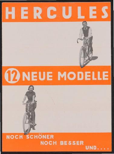 Hercules Faltblatt 1931