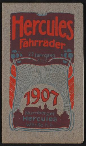 Hercules Katalog 1907