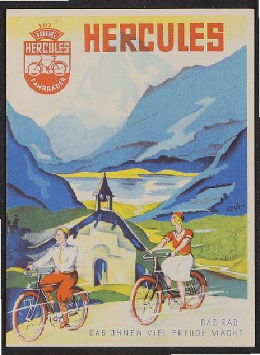 Hercules Prospekt 1930er Jahre